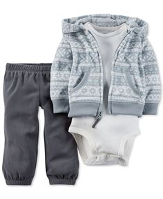 Converse Baby Boys Micro Fleece Clothing Set