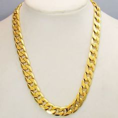 New Charms Yellow Gold Filled Unisex Necklace GF Snake Chain Jewelry. It does not flake off, tarnish or discolor. Gold filled jewelry is an economical alternative to solid gold jewelry! Although it isn't solid gold jewelry. Mens Gold Jewelry, Solid Gold Jewelry, Gold Filled Jewelry, Copper Jewelry, Male Jewelry, Industrial Jewelry, Crystal Jewelry, Women Jewelry, Mens Chain Necklace