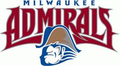 milwaukee admirals | Milwaukee Admirals Primary Logo (1998) -