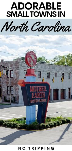 North Carolina has some incredible small towns! Explore these NC small towns and add them to your travel bucket list! #travel #NC #NorthCarolina #familytravel Rocky Mount North Carolina, Visit North Carolina, Western North Carolina, Morehead City, Bryson City, Atlantic Beach, Travel Information, Small Towns, Trip Planning
