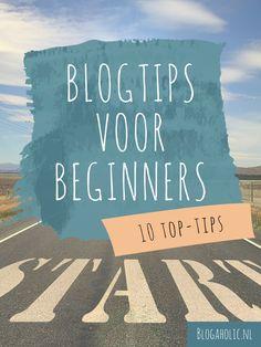 Ben jij van plan binnenkort een blog te starten of net begonnen? Check onderstaande top tips voor beginnende bloggers en maak een goede start.