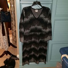 Selling this Anne Klein  Smoke Combo Sweaterdress in my Poshmark closet! My username is: kelliwest. #shopmycloset #poshmark #fashion #shopping #style #forsale #Anne Klein #Dresses & Skirts