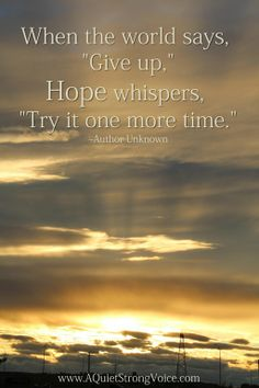 14 Best Words Of Hope And Inspiration Images Words Of Hope Mental