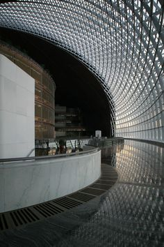 National Centre For The Performing Arts, Beijing, China :: Paul Andreu Amazing Buildings, Amazing Architecture, Contemporary Architecture, Art And Architecture, Architecture Details, Paul Andreu, Atrium Design, Arch Building, Visual Arts Center