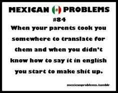 Mexican Problem #84 Wonder how many kids do this at the hospital?