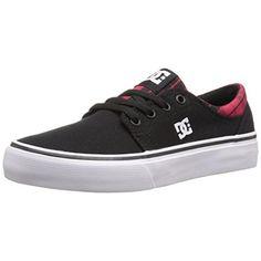 DC Boys Trase TX SE Canvas Skate Shoes