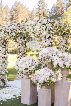 15 Dreamy Wedding Ceremony Ideas for A Fairytale Affair - Belle The Magazine Wedding Ceremony Ideas - Victor Sizemore Photography. Cheap Wedding Flowers, Wedding Ceremony Flowers, Wedding Ceremony Decorations, Floral Wedding, Wedding Bouquets, Wedding Aisles, Wedding Ceremonies, Wedding Draping, Wedding Backdrops