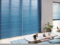 【木製ブラインド】西海岸スタイルのウッドブラインド【NX-0119】インディゴ ウォッシュ Blinds, Curtains, Home Decor, Decoration Home, Room Decor, Shades Blinds, Blind, Draping, Home Interior Design