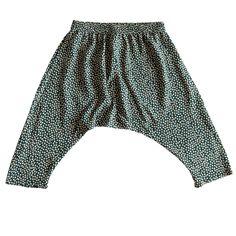 Toddler Harem Pants- Hunter Polka Dot | Ultra Violet Kids
