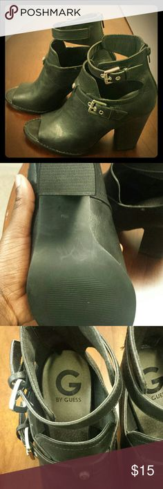 GUESS heels GUESS heels, black. Never worn. New, without tags. Guess Shoes Heels