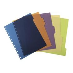 M By Staples ARC Poly Dividers A4 Pack 5