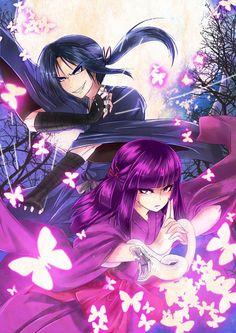 basilisk anime Hotarubi & Yashamaru Iga Clan