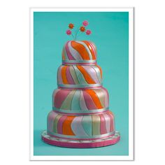 This link Haas some GORGEOUS cakes. If you're looking for ideas, just click - you won't regret it.  Our updated edition of crazy wedding cakes features even more eye-catching confections.