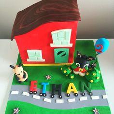 Bing Bunny house cake