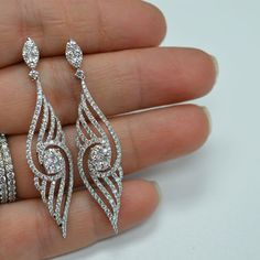 Fashion Fine Jewelry Diamond Earrings. Shop in Diamond District NYC.