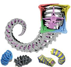 It's hip to be square if you're a seahorse—or rather, it has certain adaptive advantages. Cylindrical tails may be much more popular in the animal kingdom, but the seahorse's bizarre square-prism tail has far better mechanical properties. Biomimicry Examples, Kinetic Architecture, Animal Tails, Robot Arm, Futuristic Technology, Tentacle, Great Artists, Sculptures, Prints