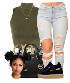 """5/31/16"" by yasnikki ❤ liked on Polyvore featuring Chanel, WearAll, MICHAEL Michael Kors and Finn"