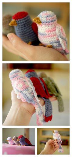 Crochet Amazing Bird Amigurumi Free Pattern