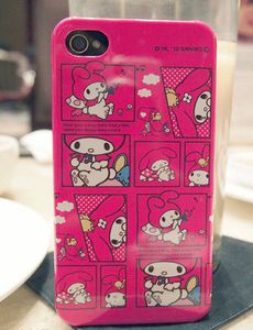 my melody phone case ^^