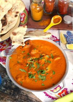 Így készíts csirke tikka masala-t házi naan-nal!   Street Kitchen