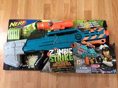Black Friday 2014 Nerf Zombie Strike Longshot from Nerf Cyber Monday. Black Friday specials on the season most-wanted Christmas gifts. Nerf Toys, 12 Year Old Boy, Black Friday Specials, Best Black Friday, Old Boys, Cyber Monday, Guns, Christmas Gifts, Gift Ideas