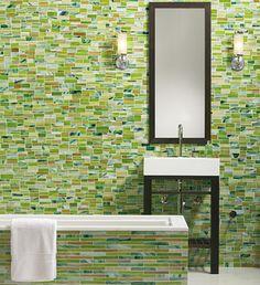 Erin Adams for Ann Sacks: Artisan glass mosaics