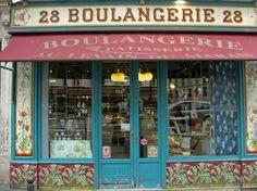 Beautiful shop front in Paris.