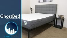 GhostBed Review - Sleepopolis Ghost Bed, Adjustable Base, Never Sleep, Best Mattress, Bed Frame, Mattresses, Pillows, Luxury, Bedding
