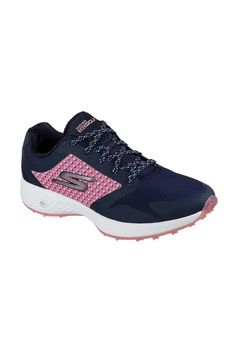 987145af0a Picture of Skechers Go Golf Eagle Lead Golf Shoes - Navy   Pink Spikeless Golf  Shoes