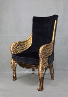 Beau Antique Gold King Throne Chair For Home And Hotel Use   Guangzhou Miller  Arts U0026 Crafts Co.
