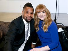 Star Tracks: Friday, April 8, 2016 | PHOTO FINISH  | Cuba Gooding Jr. and Bryce Dallas Howard are all smiles at the 5th Annual Reel Stories, Real Lives event in Hollywood on Thursday.