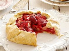 Get Strawberry Galette Recipe from Cooking Channel