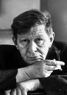 W.H. Auden, 1952, photo by Alfred Eisenstaedt