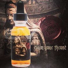 Claim Your Throne @vaporizitinc by King's Crown! A creamy butterscotch with hints of brown sugar