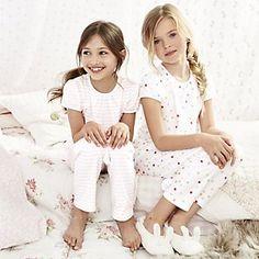 Stripe and Spot Pyjamas 2 Pack | The White Company