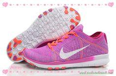 chuteiras profissionais baratas 718785-500 Roxo Vermelho Branco Nike Free 5.0 Tr Flyknit Mulheres