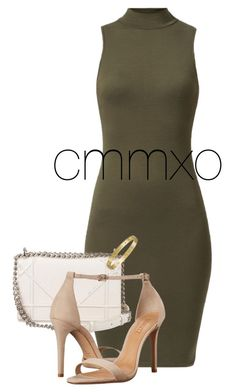 """""""Untitled #308"""" by cmmxo ❤ liked on Polyvore featuring Christian Dior, Schutz and Cartier"""