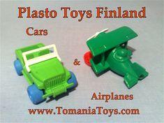 PLASTO Finland - www.tomaniatoys.com Finland