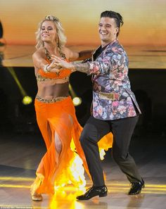 Dream in tangerine: MMA fighter Paige VanZant was paired with Mark Ballas