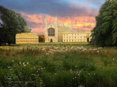 Cambridge United Kingdom by vlozano