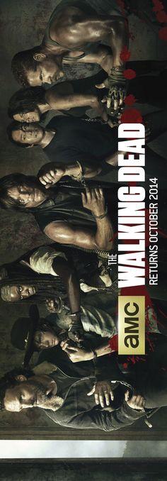 New Banner Art for The Walking Dead Season 5. My walls will be plastered full of these Walking Dead posters...