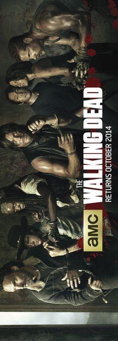 New Banner Art for The Walking Dead Season 5!