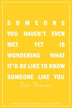 someone you haven't even met yet - Google Search
