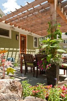 1910 Bungalow Renovation and Addition - eclectic - patio - boston - by Juniper River Home Design