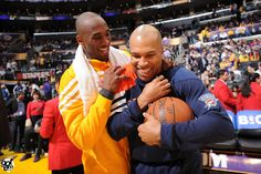 Love them both, want him back as a Laker...LOVE ya Fisher :-D