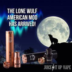 http://www.juiceitupvape.com Lone Wulf American Mode | Vaping Supplies