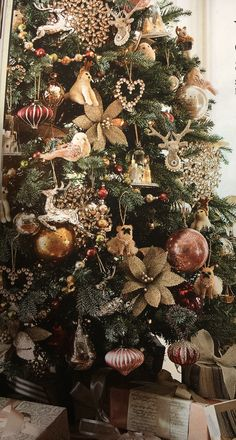 Christmas tree this year? Rose gold Blush