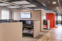 New Purpose has designed the offices of business communications company Zetacom, located in Zoetermeer, Netherlands. Zetacom, a system integrator for the Visual Merchandising, Open Office, Acoustic Panels, Design Furniture, Downlights, Office Interiors, Stores, Wood Wall, Purpose
