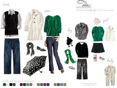 Family Photo What to Wear   Fall/Winter Family Fashion Guide - What to wear for your photo shoot ...