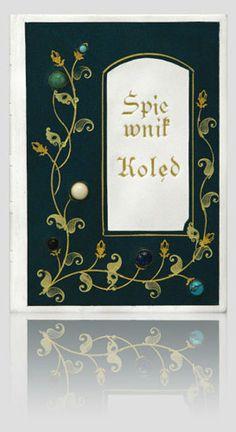 Śpiewnik kolęd. Creative & luxury handbinding. Original artistic book. http://www.kurtiak-ley.com/spiewnik_koled/. Oprawy unikatowe.Oryginalna książka artystyczna. http://www.kurtiak-ley.pl/spiew%C2%ADnik-koled/